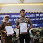Penyerahan Nota Kesepahaman (MoU) Antara Polres Batu Dengan Lembaga Penyiaran Publik RRI Malang.