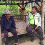 Kanit Binmas Polsek Batu Kota Silaturahmi Tokoh Masyarakat Sampaikan Pesan Kamtibmas
