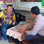 Bhabinkamtibmas Desa Sidomulyo Polsek Batu Polres Batu, Serap Informasi Kamtibmas Silaturahmi Kepada Tokoh Masyarakat