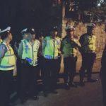 Polsek Junrejo bersama Polres memberikan Pengamanan kegiatan Sholawatan Majlis maulid Wa ta`lim Riyathul Jannah