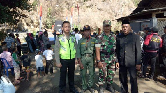 Sinergitas TNI-POLRI Polsek Bumiaji Polres Batu