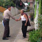 Kunjungan Tomas Bhabinkamtibmas Desa Sumberejo Polsek Batu Kota