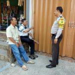 Kunjungan Tempat Usaha Warga Bhabinkamtibmas Desa Oro Oro Ombo Polsek Batu Kota