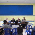 Bhabinkamtibmas Polsek Pujon Polres Batu Giat Penyuluhan Kepada Ketua RT Di Desa Tawangsari
