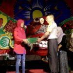 Brigadir Ibnu Mobarok melaksanakan pengamanan giat silaturahmi dan kreasi anak dalam dalam rangka HUT Ri ke 73 Desa Pendem Junrejo