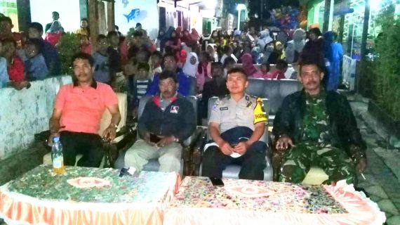 Anggota Bhabinkamtimas Desa Pendem hadiri giat warga