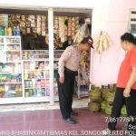 Berkunjung Ke Toko Pracangan Milik Warga Bhabinkamtibmas Kelurahan Songgokerto Polsek Batu Kota Polres Batu Sampaikan Pesan Kamtibmas