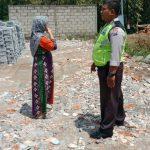 Kanit Bimmas Polsek Batu DDS Kunjungan Warga desa binaan