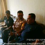 Silaturahmi Dan Sambang Tokoh Masyarakat Bhabinkamtibmas Kelurahan Songgokerto Polsek Batu Kota Polres Batu