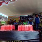 Anggota Polsek Pujon Polres Batu Pengamanan Karnaval Desa Tawangsari Pujon dalam rangka Bersih desa