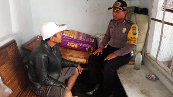 Giat Pendekatan Dengan Masyarakat Jaga Kamtibmas, Polsek Batu Kota Polres Batu Lakukan DDS di Wilayahnya