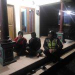 Giatkan Patroli Malam Hari Polsek Bumiaji Polres Batu antisipasi terjadinya kejadian kriminal