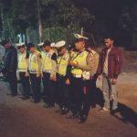 Anggota Bhabinkamtibmas Desa Pendem laksanakan pengamanan giat Sholawat Riyadul Jannah