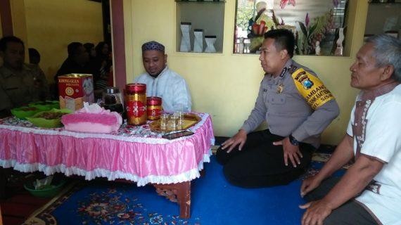 Silaturahmi Kepada Lurah Sisir Bhabinkamtibmas Kelurahan Sisir  Polsek Batu Kota Polres Batu Menjaga Keamana Wilayah