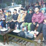 Bhabinkamtibmas Kelurahan Songgokerto Polsek Batu Hadiri Malam Pentas Seni Warga Lingkungan Tambuh