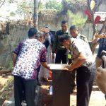 Kapolsek Bersama Anggota Mengadiri Peresmian Seni Keramik Polsek Bumiaji Polres Batu