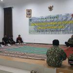 Kapolsek Junrejo hadiri giat pembekalan Linmas guna mendukung pelaksanaan Pileg dan Pilpres 2019