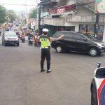Berikan layanan prima kepada masyarakat Satlantas Polres Batu Awali Yanmas dengan Pos Awal