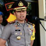 Kapolres Batu Pimpin Upacara Korps Raport Kenaikan Pangkat Anggota Polres Batu