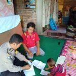 Giat Silaturahmi Masyarakat Sampaikan Pemberitahuan Masa Berlakunya SIM –Bhabinkamtibmas Polsek Batu Kota Polres Batu