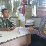 Upayakan dan Bangun Preventif di Wilayah, Bhabinkamtibmas Kelurahan Temas Polsek Batu Sambang Pam Swakrasa Pesan Kamtibmas
