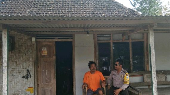 Bhabinkamtibmas Silaturahmi Wilayah, Silaturahmi Ke Rumah Tokoh Masyarakat Bhabin Kel Songgokerto Polsek Batu Kota Titipkan Pesan kamtibmas