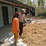 Upayakan dan Bangun Preventif di Wilayah, Bhabin Kelurahan Songgokerto Polsek Batu Serap Informasi Kamtibmas