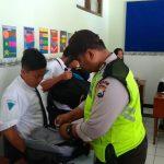 Upayakan dan Bangun Preventif di Wilayah, Kanit Binmas Polsek Batu Kota Sinergi Dengan BNN Kota Batu Lakukan Operasi Cinta Kasih