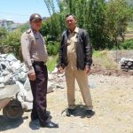Pengawasan Dana Desa Bhabinkamtibmas Sumberejo Polsek Batu Kota POlres Batu Monitoring Pembangunan Plengsengan
