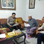 Sambang Ketua RT Bhabin Kelurahan Sisir Polsek Batu Kota Polres Batu Sampaikan Pesan Kamtibmas