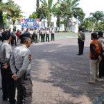 Kabag Ops Polres batu Pimpin Apel OMB dan Bina Waspada 2018