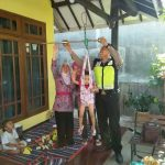 Bhabinkamtibmas Kelurahan Sisir Polsek Batu Sambang Ke Posyandu Anak