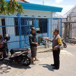 Sambang Kantor Hippam Bhabin Kelurahan Temas Polsek Batu Sampaikan Pesan Kamtibmas