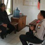 Giat Sambang Silaturahmi Kamtibmas Ke Satpam Tingkatkan Pam Swakarsa Bhabinkamtibmas Kelurahan Sisir Polsek Batu Kota Polres Batu