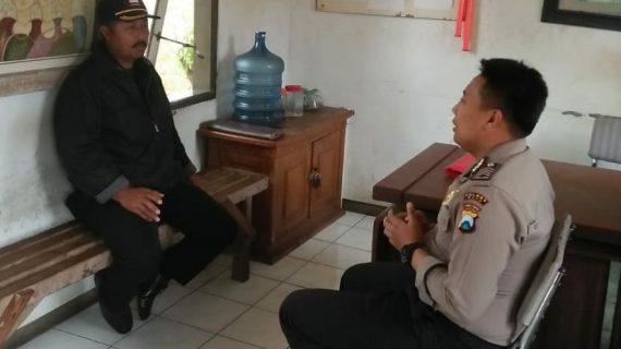 Kegiatan Sambang Silaturahmi Kamtibmas Ke Satpam Tingkatkan Pam Swakarsa Bhabinkamtibmas Sisir Polsek Batu Kota Polres Batu