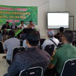 Partisipasi Pengawasan Dana Desa Bhabinkamtibmas Desa Oro Oro Ombo Polsek Batu Hadiri Rapat Pembahasan RKPDes Tahun 2019