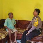 Kunjungan Kamtibmas Rumah Warga Bhabinkamtibmas Kelurahan Temas Polsek Batu Sampaikan Pesan Kamtibmas