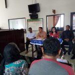 3 Pilar Bhabinkamtibmas Desa Oro Oro Polsek Batu Fasilitasi Korban Gempa Palu Yang Mengikuti Saudara Di Desa Oro Oro Ombo Batu