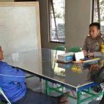 Tingkatkan Pam Swakarsa Bhabinkamtibmas Kelurahan Sisir Polsek Batu Kota Sambang Satpam Tawangargo Batu