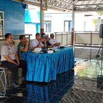 Kapolsek Pujon Menghadiri musyawarah Terkait Dampak Penebangan Kayu