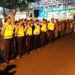 Polres Batu Melaksanakan Pengamanan Hiburan Orkes Dangdut