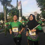 Polres Batu ikut Meramaikan Among Tani Fun Run 5k