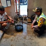 Bhabin Kelurahan Temas Polsek Batu Polres Batu Giat Rumah Warga