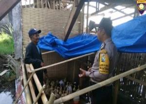 Giat Sambang Desa Kunjungan Potensi Ternak Itik, Bhabinkamtibmas Kelurahan Songgokerto Polsek Batu Kota Polres Batu