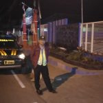 Bhabinkamtibmas Silaturahmi Kepada Warga, Anggota Bhabinkamtibmas Polsek Pujon Polres Batu Patroli Malam Jaga Kamtibmas