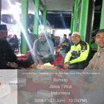Anggota Bhabinkamtibmas melaksanakan sinergitas dengan warga masyarakat , Menghadiri Undangan Pengajian Dalam Rangka Memperingati Maulid Nabi Muhammad SAW,Polsek Bumiaji Polres Batu