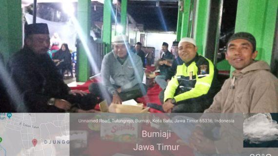 Sinergitas TNI-POLRI Menghadiri Undangan Pengajian Dalam Rangka Memperingati Maulid Nabi Muhammad SAW,Polsek Bumiaji Polres Batu