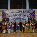 Madrasah Ibtidaiyah Miftahul Ulum Kota Batu Raih Juara I Dalam Kejuaraan Drum Band Kapolres Cup 2018.