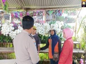 Giat DDS Kunjungan Warga Bhabin Desa Sidomulyo Polsek Batu Kota Polres Batu Sampaikan Pesan Kamtibmas