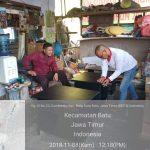 Bhabin Polsek Batu Kota Polres Batu Kegiatan Bangun Dengan Sinergi Dengan Tokoh Pemuda